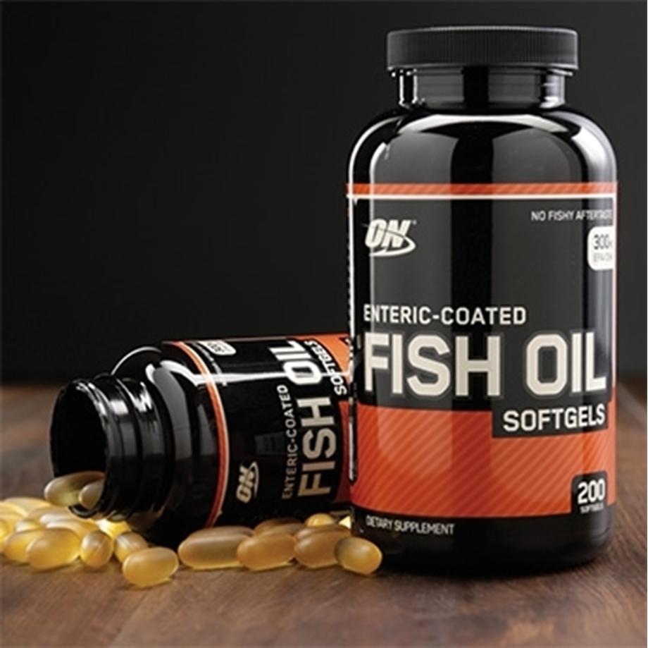 Slika OPTIMUM NUTRITION FISH OIL, 200 tablet