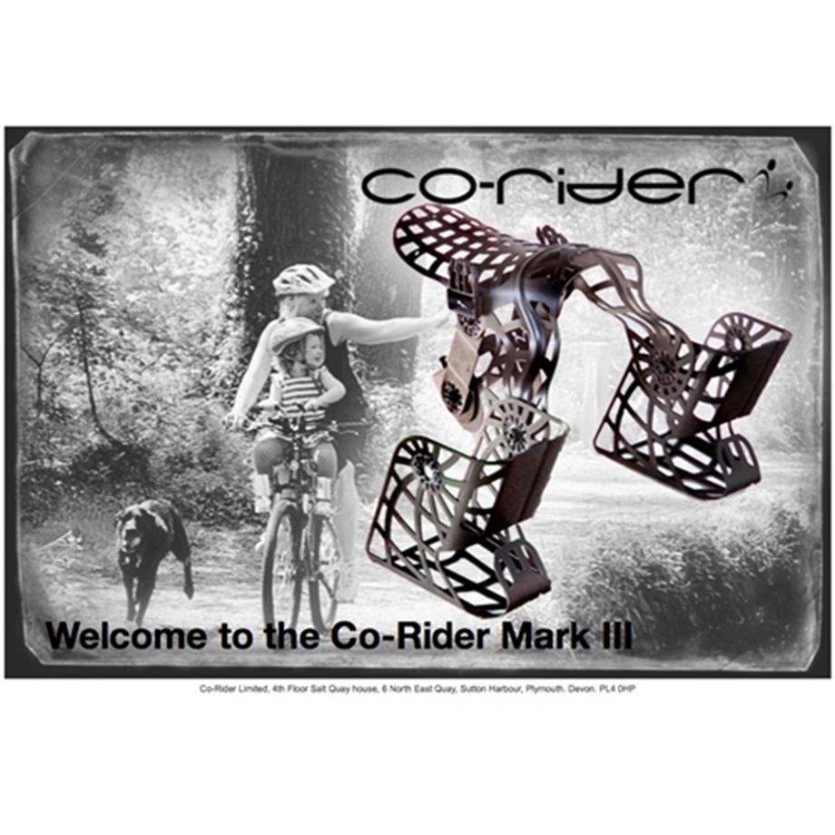 Slika Otroški sedež co-rider mark 3