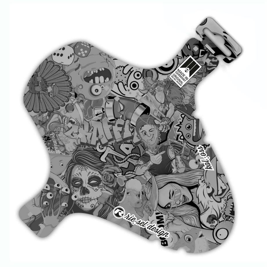 Slika Rie:sel Design blatnik STICKERBOMB